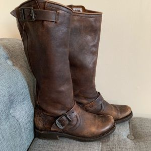 Frye knee high boots Veronica Slouch